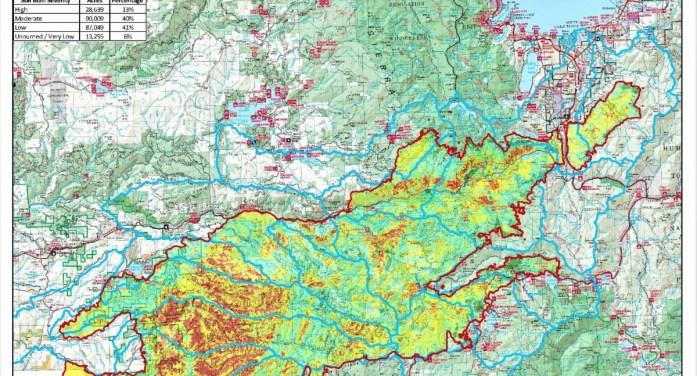 Caldor Post-Fire BAER Soil Burn Severity Map Released