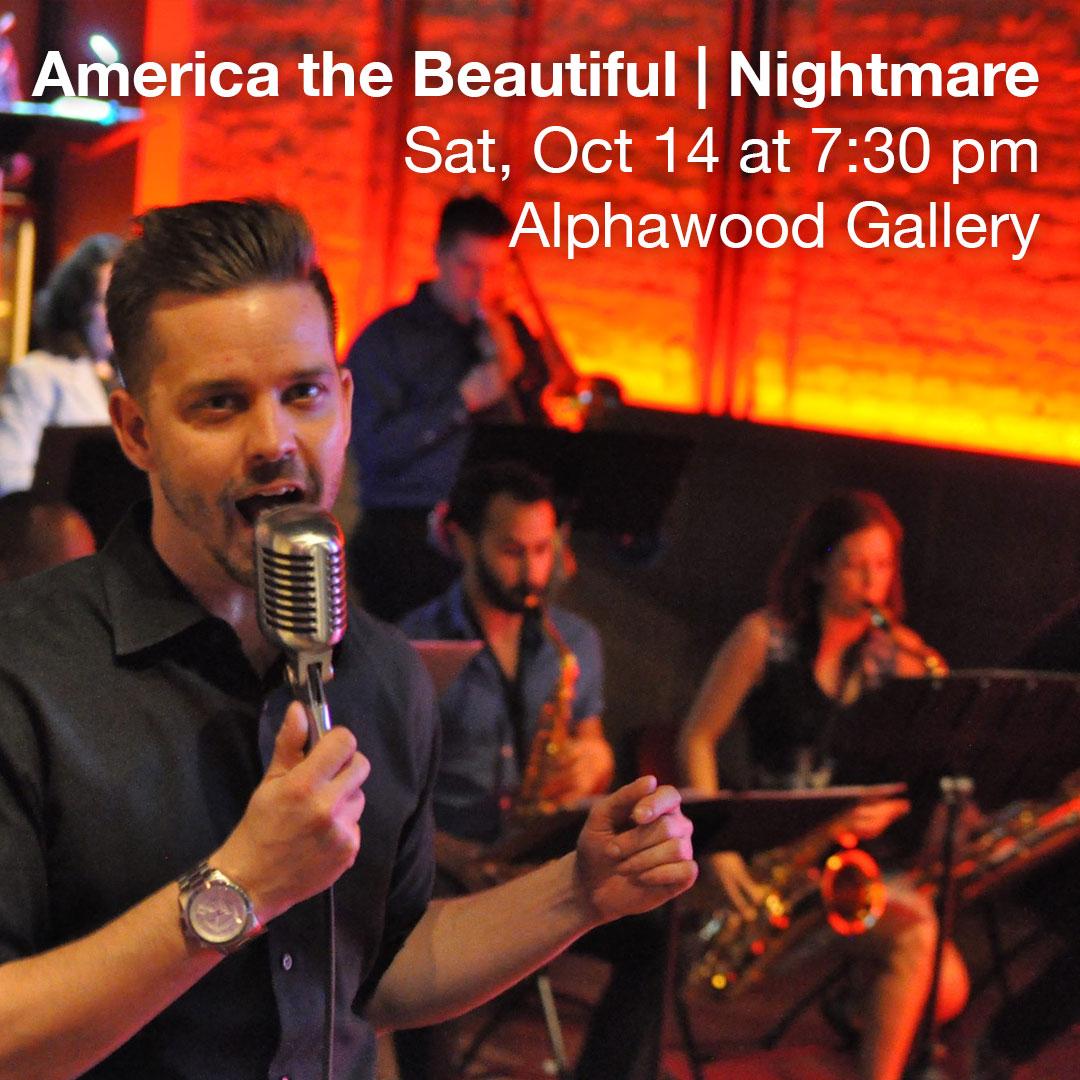 America the Beautiful | Nightmare show graphic