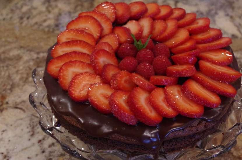 gluten free flourless chocolate torte