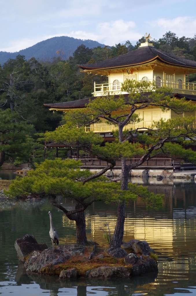 Kinkaju-ji Golden Temple Kyoto Japan