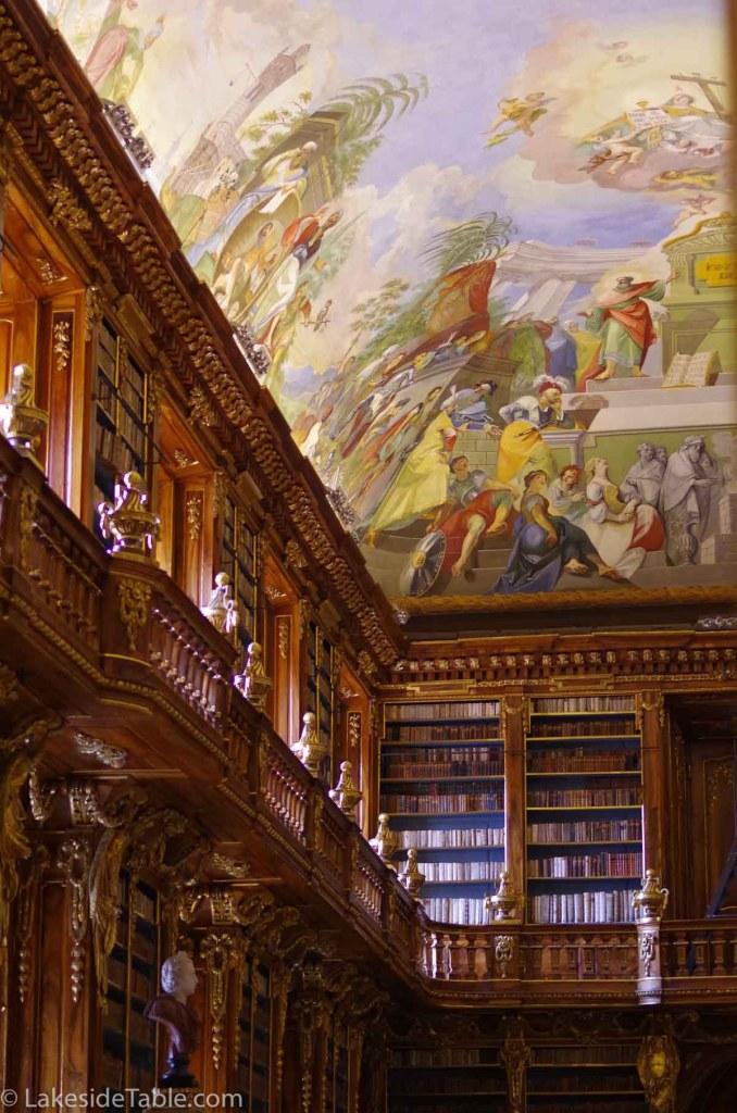 Philosopher's Hall Strahov Monastery and Library, Prague