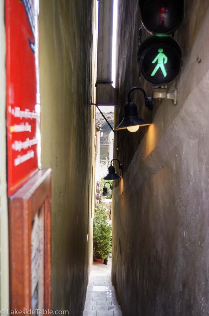 small Certovka street Prague