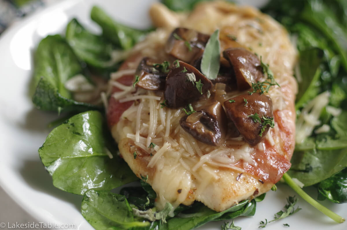 "Chicken Saltimbocca is ""Jump In Your Mouth"" Good!"