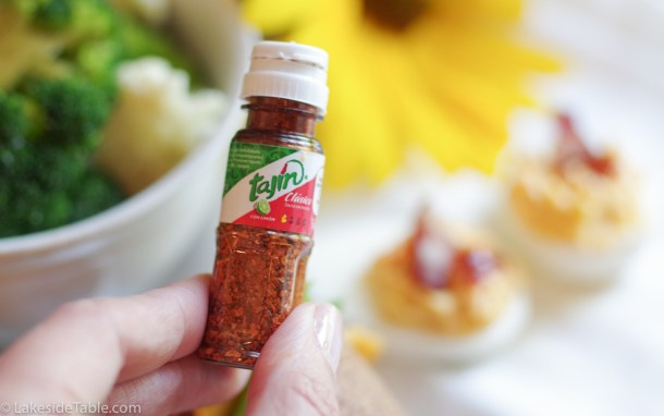 mini Tajin spice bottle