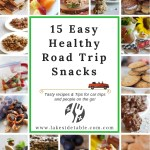 15 easy healthy road trip snack recipes and ideas to take on the road