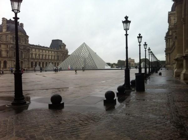 Paris Beautiful In Rain. Roped In