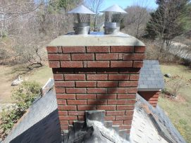 Complete rebuild with two stainless liners - NH Chimney Sweep