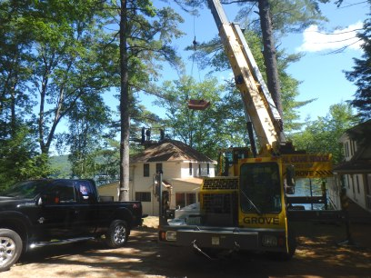 Natural Stone Chimney Rebuild