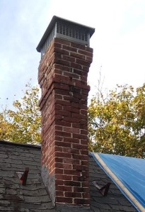 chimney in need of repair