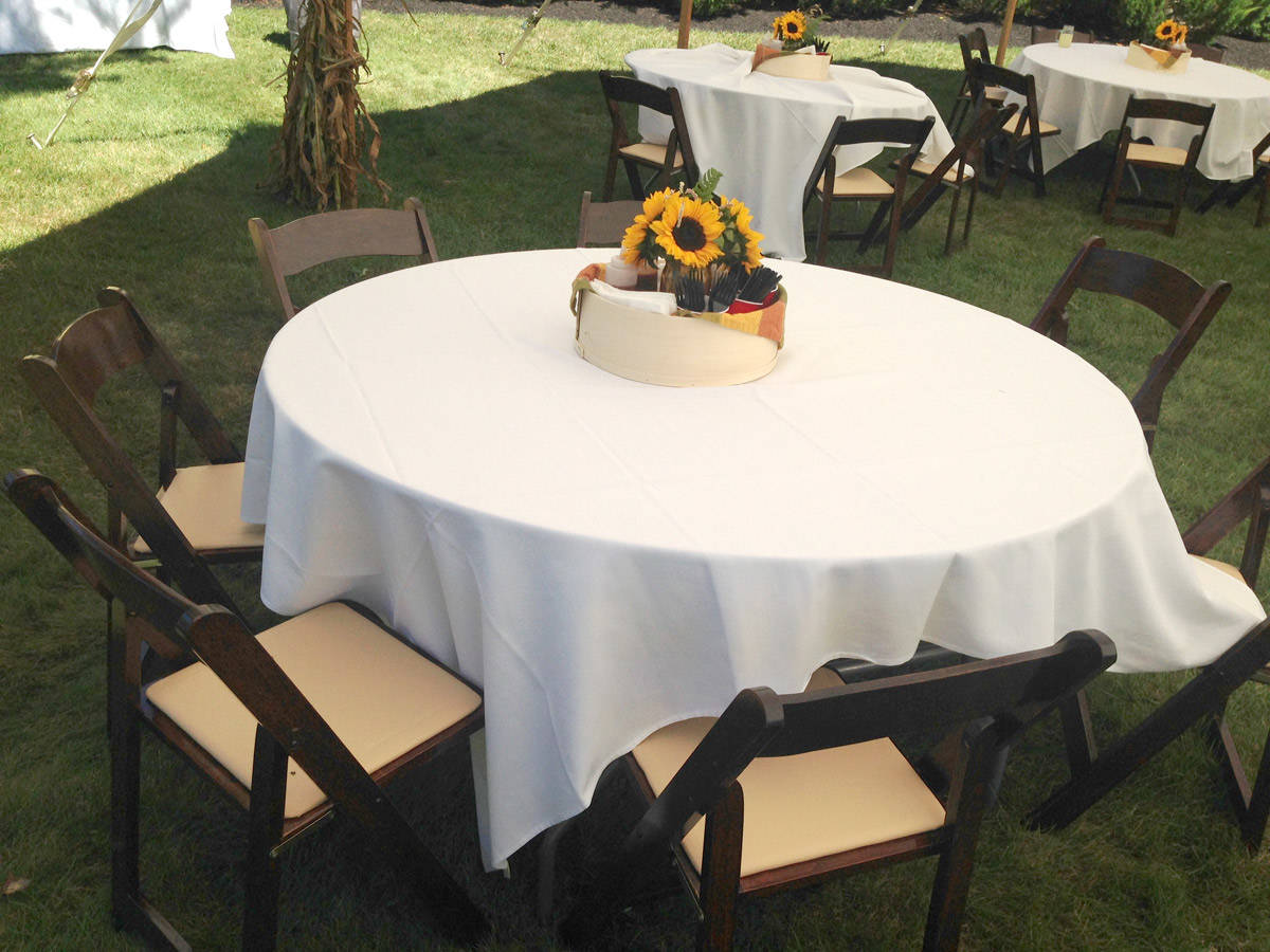 Tent Table And Chair Rentals Chair Rentals Nh Lakes Region Tent And Event