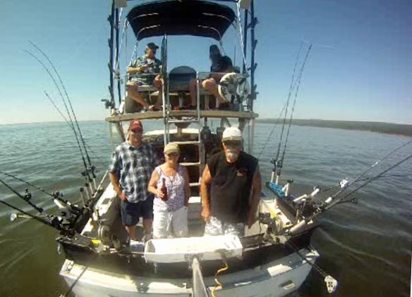 Hooker too back lake superior fishing charter for Minnesota fishing charters