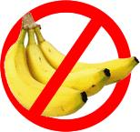 no bananas please