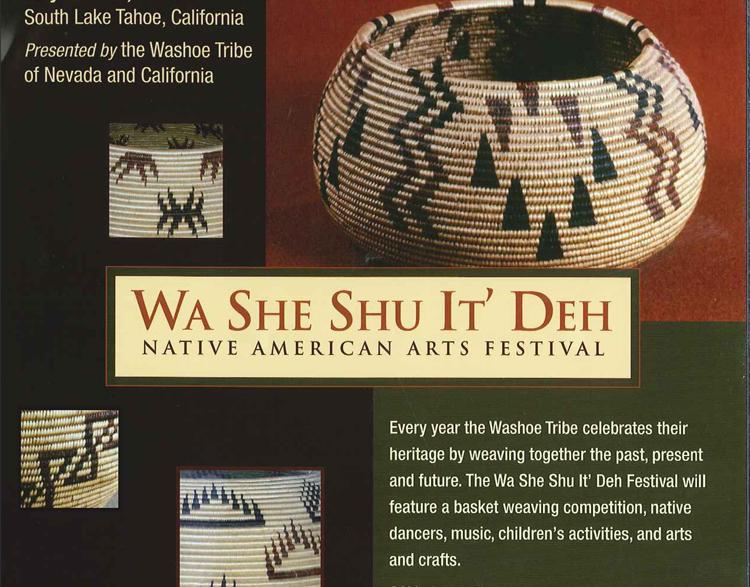 Washoe Tribe Nevada And California Flag