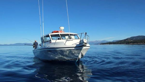 Tahoe sport fishing private charter from zephyr cove resort also rh laketahoethisweek