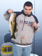 Lake Toho Bass Fishing week of Dec 12th