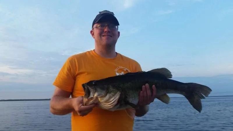 Largemouth Bass 8.4 Pounds Caught On Toho