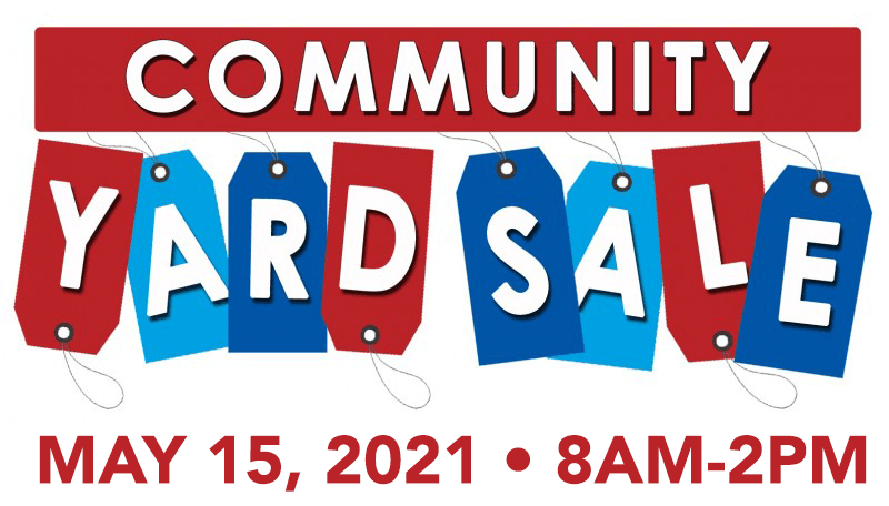 Our Community Yard Sale is BACK!