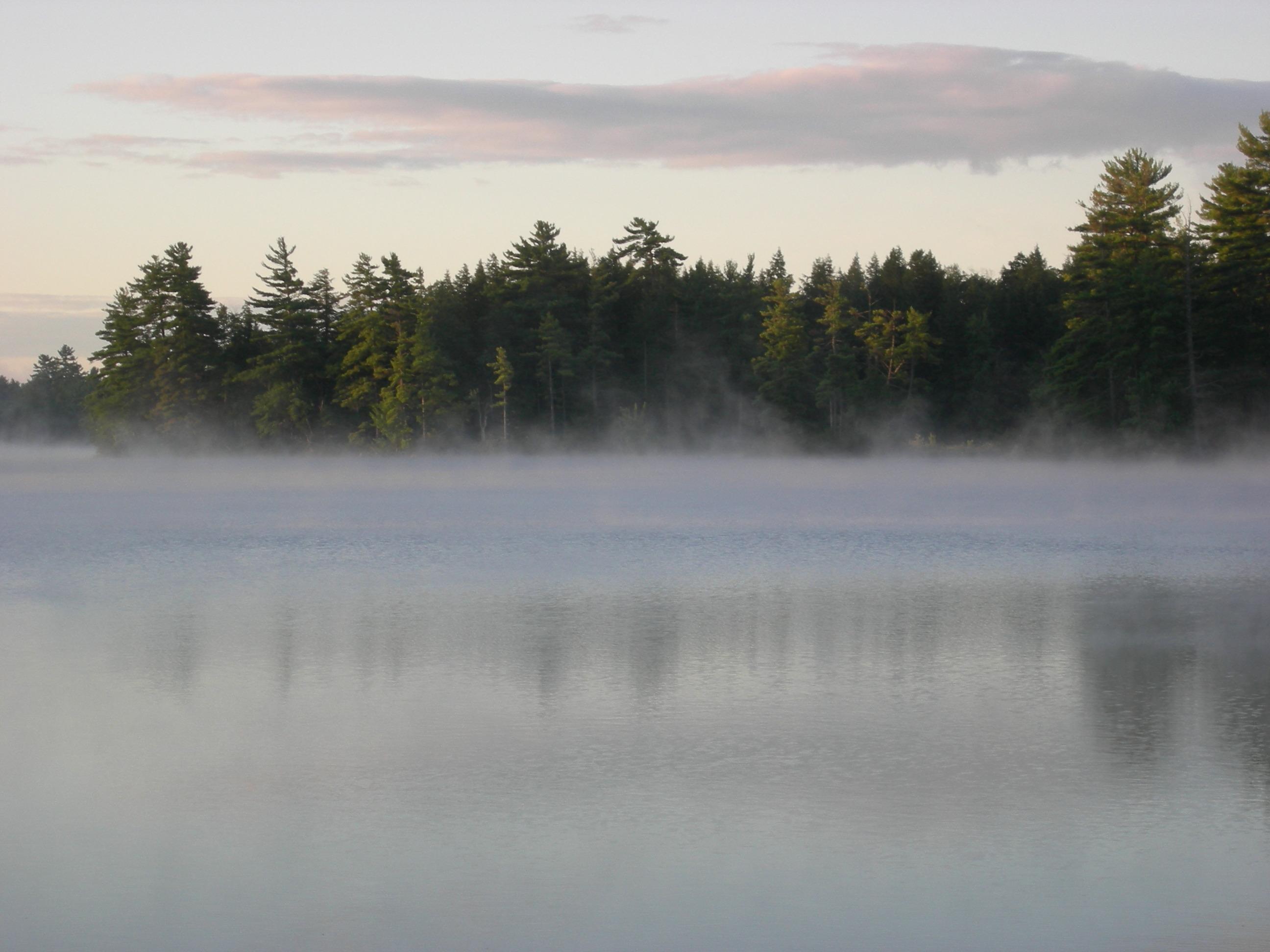 August dawn on Lake Wicwas - Marie Dexter