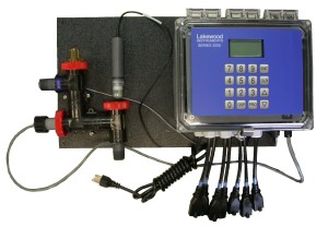 Model 2830e ORP and Conductivity Mounted