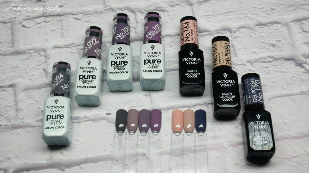 nowosci-Victoria-vynn-Neess-lakier-hybrydowy-pure-gel-polish-pylek-blamour-100-101-094-099-170-166-164-top-glow-Nowości Victoria vynn i Neess