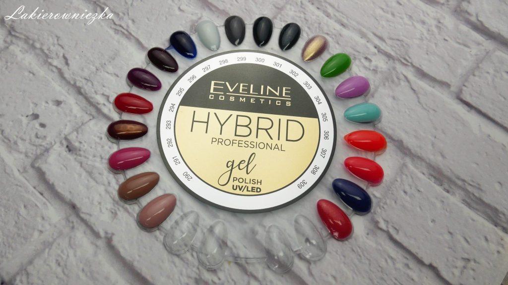 Hybrydy-Eveline-lakiery-hybrydowe-kosmetyki-Lakierowniczka-tusz-cien-blyszczyk-szminka-pomadka-brwi-remover-roz-maniciure-azteckie-wzory-kobaltowy-lakier-koralowy-hybrydy Eveline