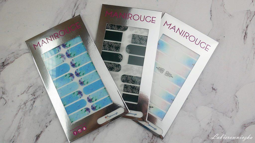 moje-naklejki-termiczne-manirouge-projekt-Lakierowniczka-lapacze-snow-blur-effect-liscie-butelkowa-zielen-kwiaty-niebieskie-alternatywa-dla-hybrydy-moje naklejki termiczne