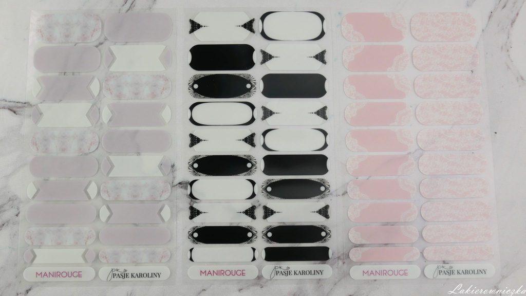 moje-naklejki-termiczne-manirouge-projekt-Lakierowniczka-lapacze-snow-blur-effect-liscie-butelkowa-zielen-kwiaty-niebieskie-alternatywa-dla-hybrydy-basia-blog