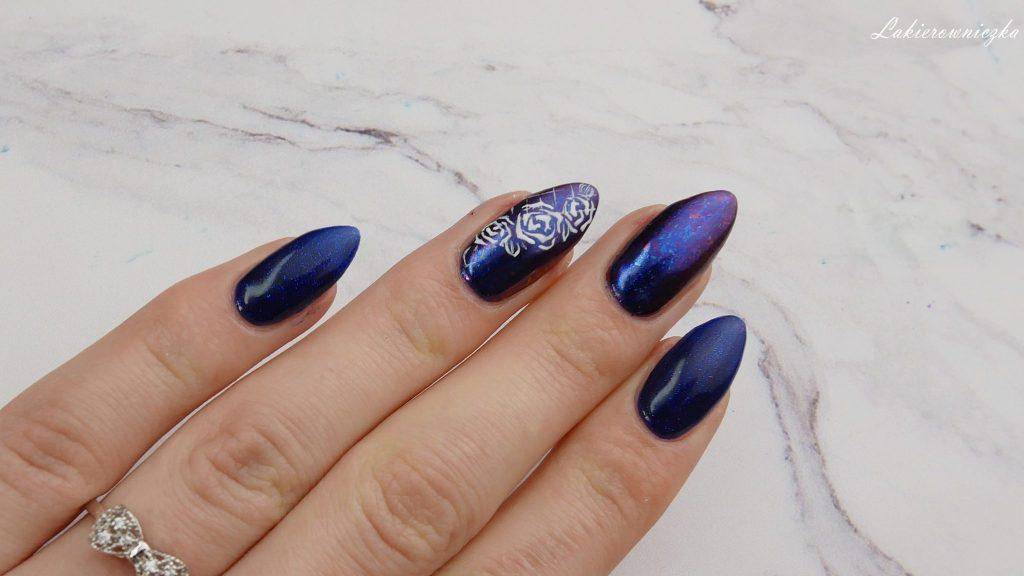 niebieskie-hybrydy-paznokcie-blue-nails-Victoria-vynn-066-night-watch-pylek-Lakierowniczka-niebieskie hybrydy