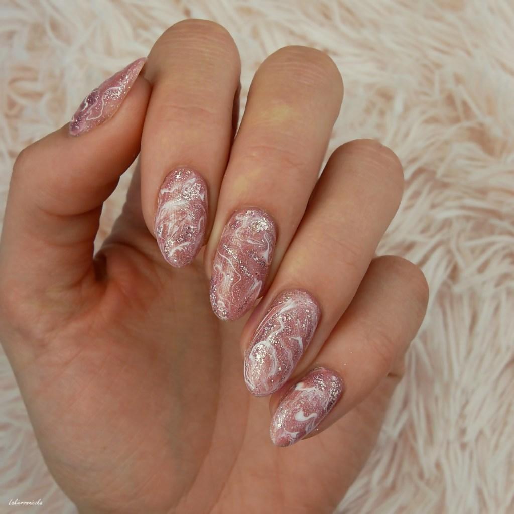 marmurkowe-paznokcie-marble-nails-Semilac-Shimmer-Dust-Lakierowniczka (1)