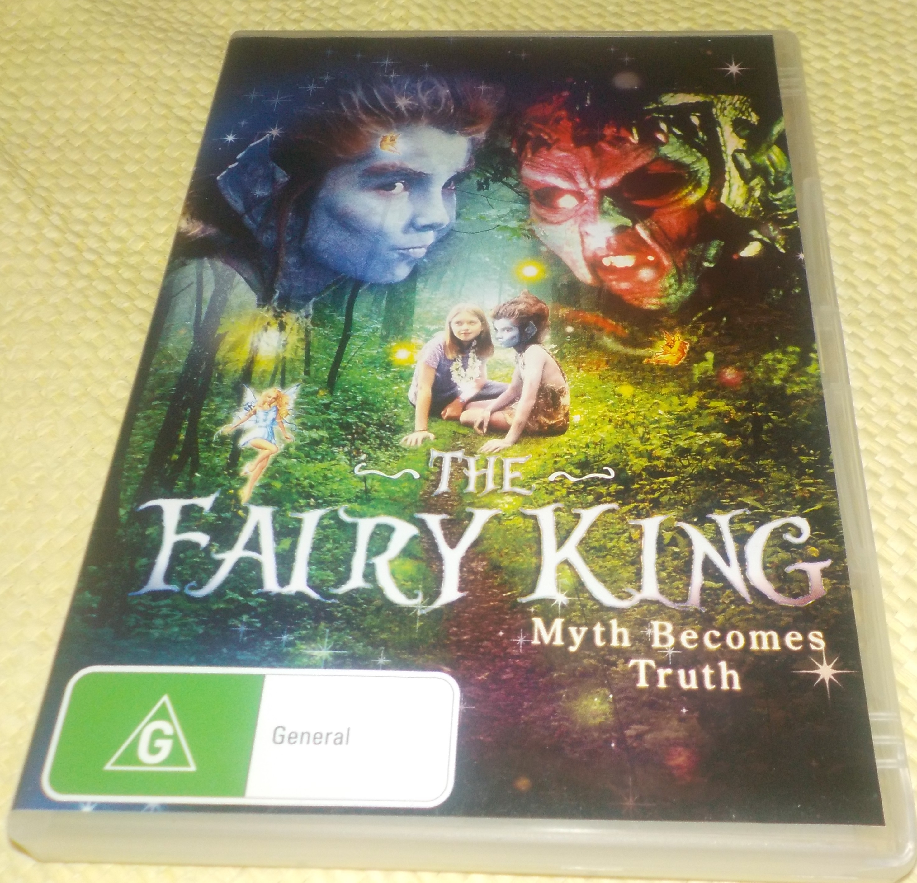 The Fairy King: Myth Becomes Truth - G - 89 mins - Used DVD Video