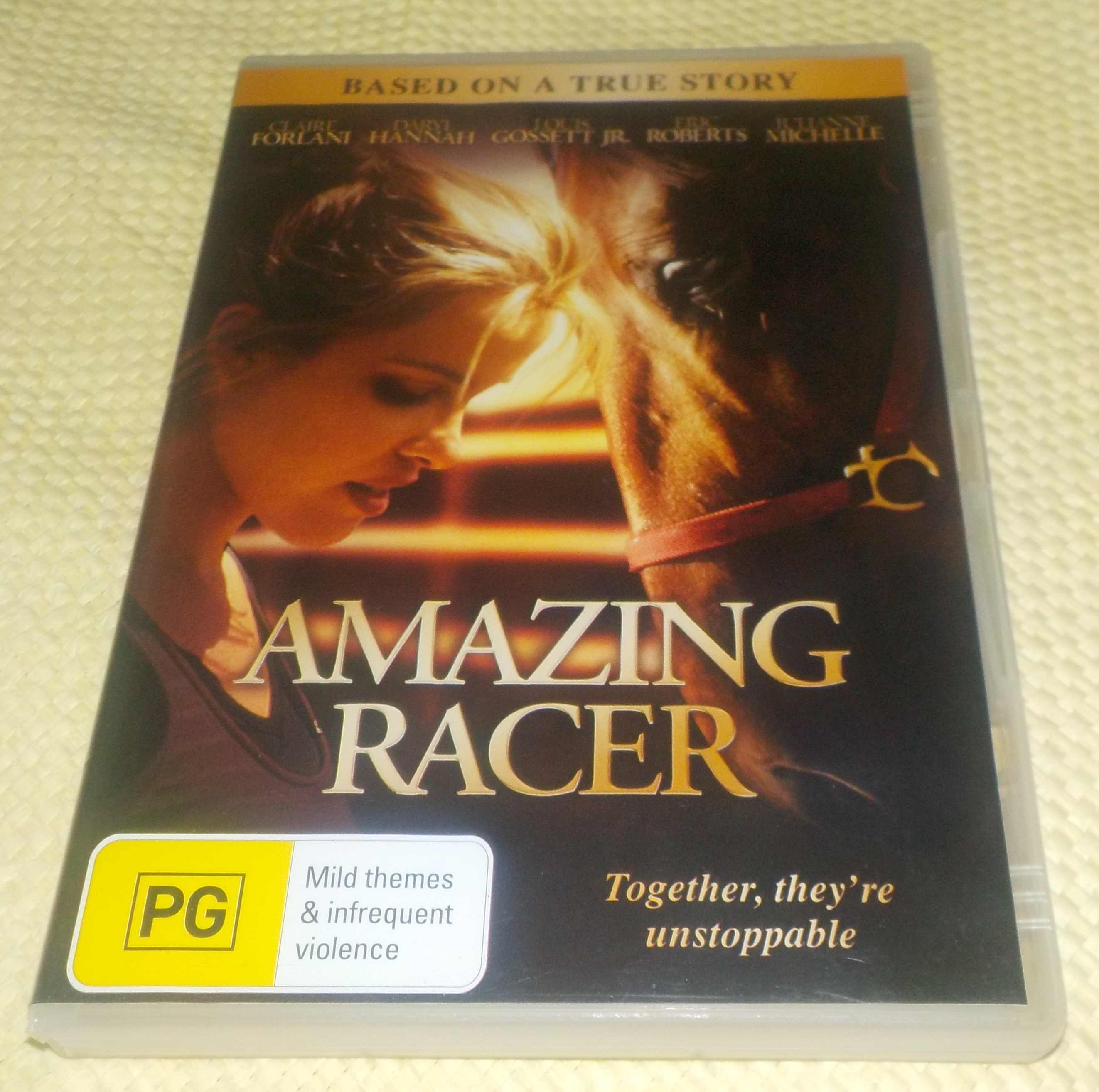 Amazing Racer - Based on a True Story - PG - 92 mins - Used DVD Video