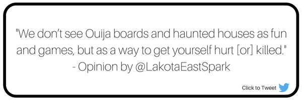 Ruth Elendu Opinion Column Doesn't celebrate Halloween I Don't Feel Like Being Possessed Religious Beliefs Lakota East Spark Online Newsmagazine
