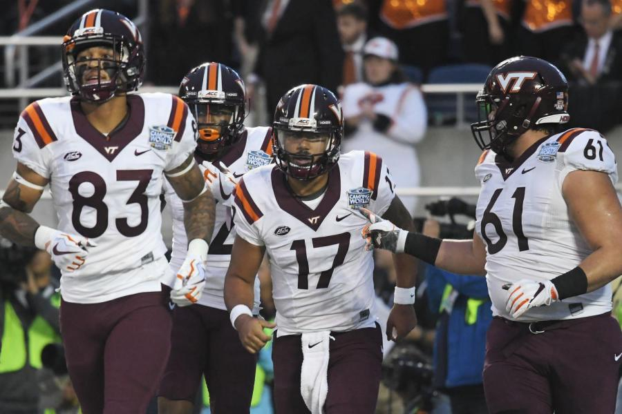 Virginia Tech vs. Oklahoma State Bowl Game Lakota East Spark Bowl Guide 2017 - 2018 Lakota East Spark Newsmagazine Game Recap by Lucas Fields Photography Used With Permission