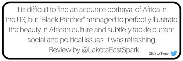 Black Panther Movie review review by Ruth Elendu Art by Bryce Forren Lakota East High School Lakota East Spark Newsmagazine Online