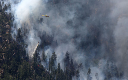 Arizona Daily Sun Slide Fire photo
