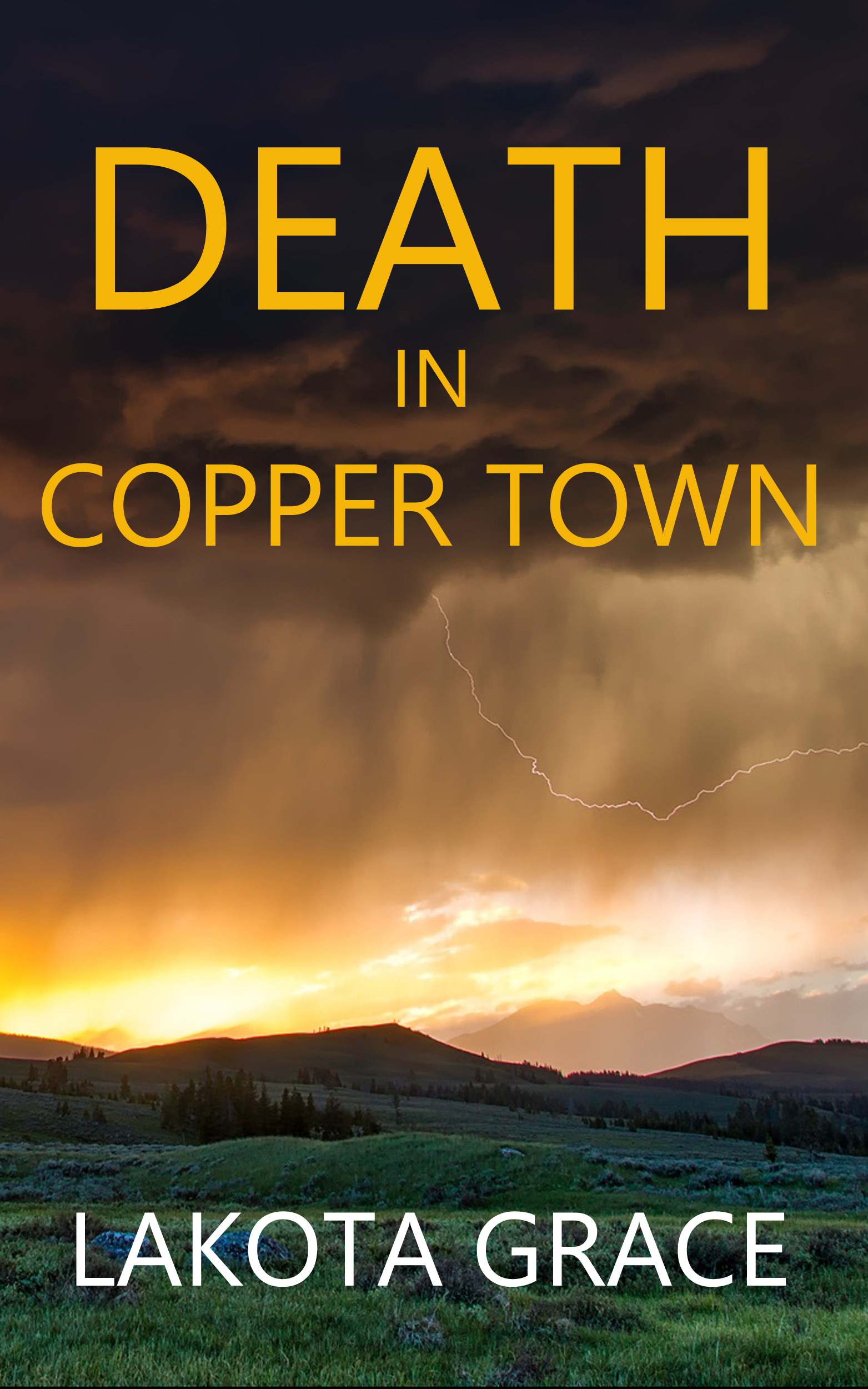 How I developed the character of Pegasus Quincy for DEATH in COPPER TOWN