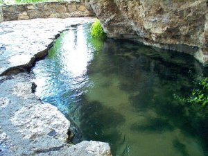 Montezuma Well swallet