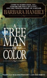 Book cover: A Free Man of Color