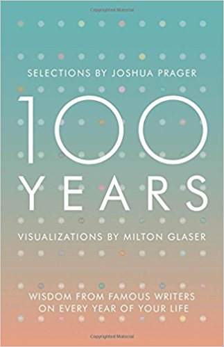 Book Review: 100 years: Wisdom from Famous Writers on Every Year of your Life by Joshua Prager