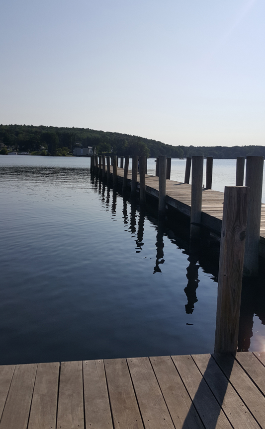 Sitting by the dock of the bay