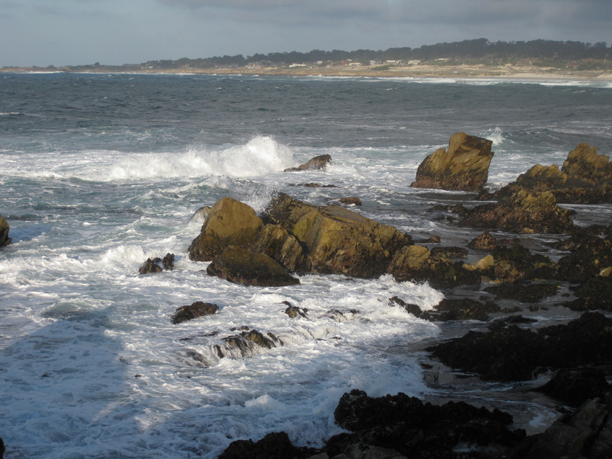 The ocean at Monterey