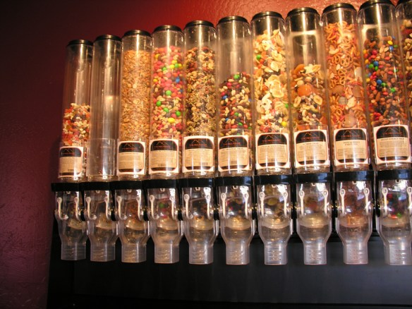 trail mix dispensers