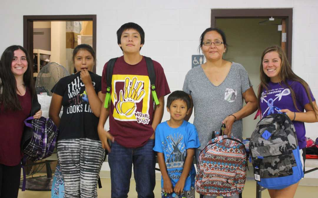 (UPDATE: SCHOOL SUPPLIES DRIVE RESCHEDULED FOR MONDAY, AUG. 5) 500-Plus Children Will Receive School Supplies at CRYP on Aug. 2