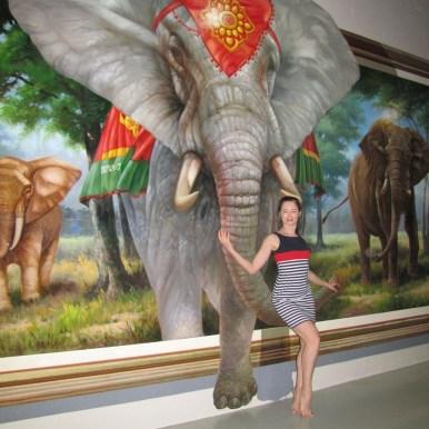 3D галерея Art in paradise Pattaya слон