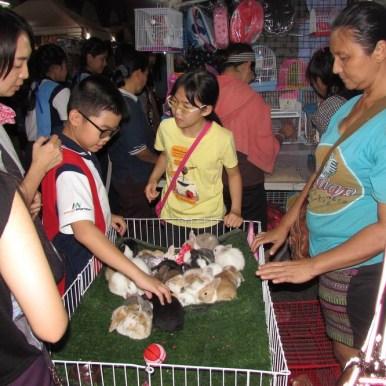 Ночной рынок Паттайя