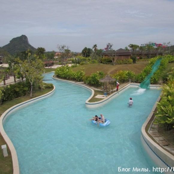 Аквапарк Рамаяна - Ramayana waterpark ленивая река