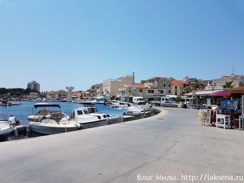 Водице — курортный городок в Хорватии