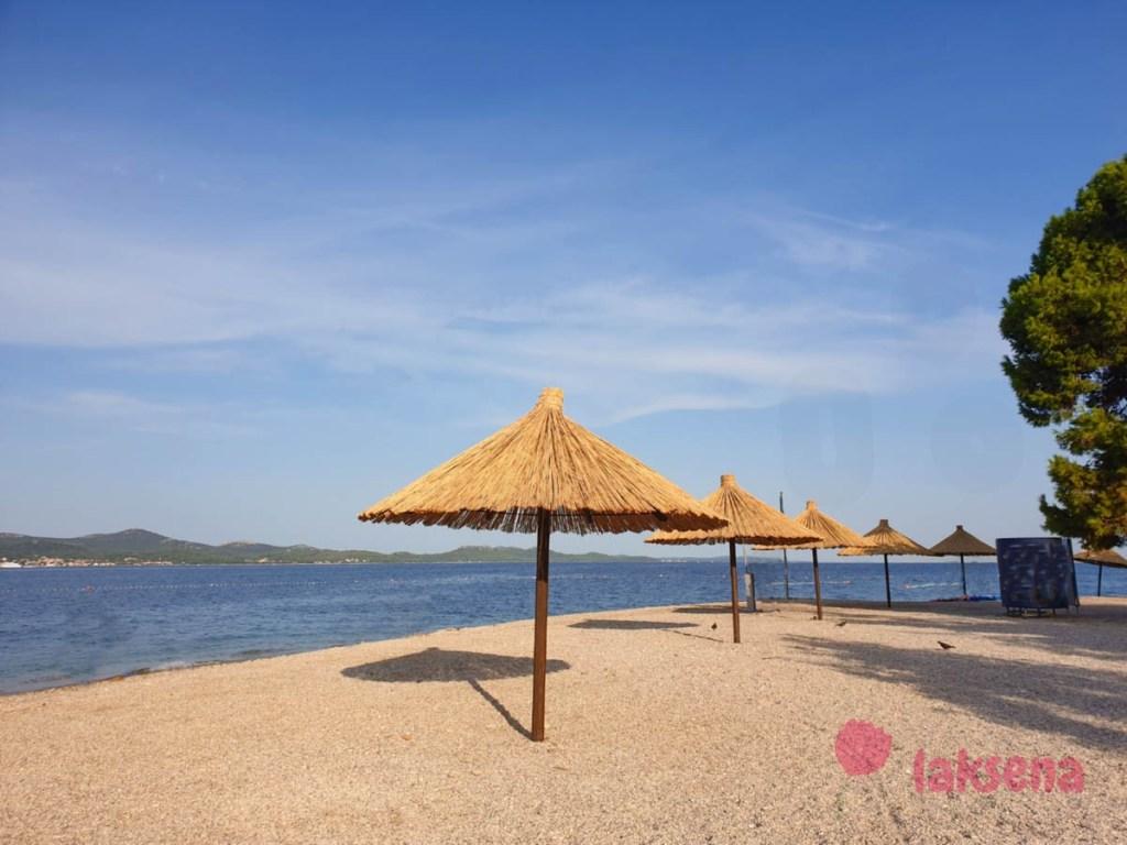 пляжи задара коловар kolovare