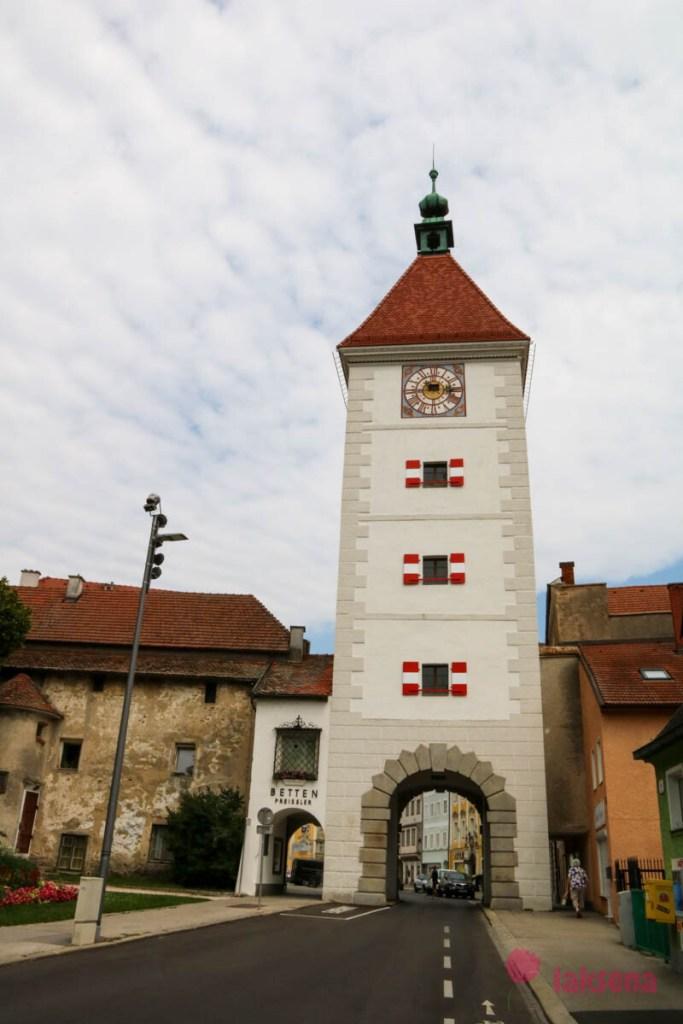 Башня Ledererturm - Башня кожевников или Ворота кожевников