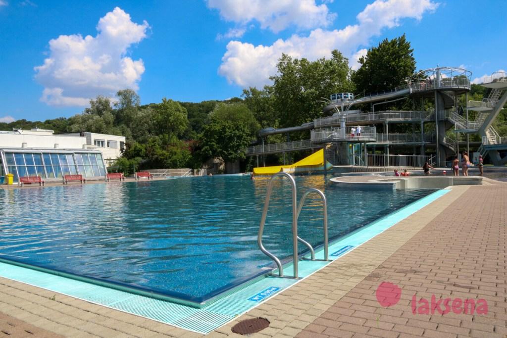 Комплекс бассейнов Welldorado в Вельс, Австрия